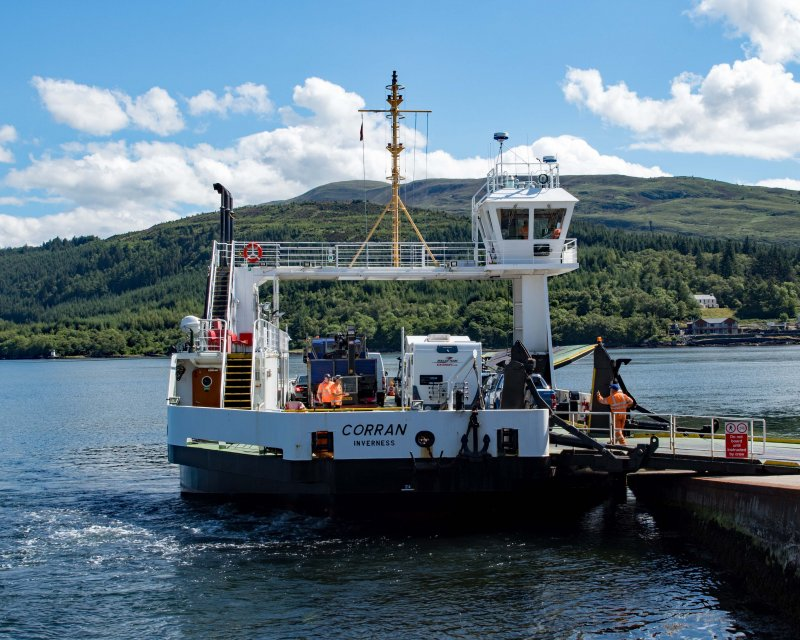 Corran Ferry to Resipole