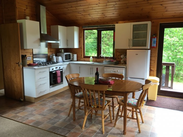Resipole Birch Lodge Kitchen