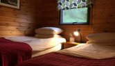 Resipole Birch Lodge Twin Bedroom